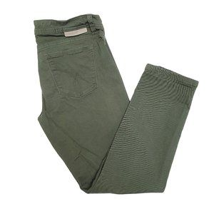 CALVIN KLEIN JEANS Olive Green Pants 4